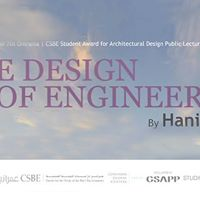 The Design of Engineering a lecture by Hanif Kara