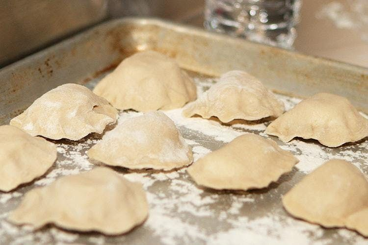 Homemade Pierogis