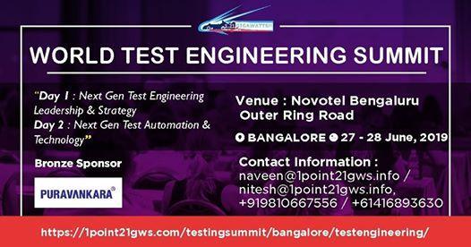 World Test Engineering Summit