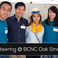 Volunteering at BCNC Oak Street Fair