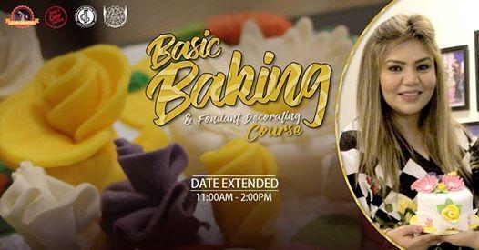 3 Day Basic Baking & Fondant Decorating Batch 7