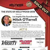 State of Hollywood with Councilmember Mitch OFarrell