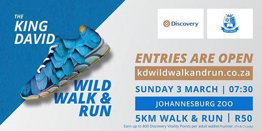 The King David Wild Walk & Run 2019