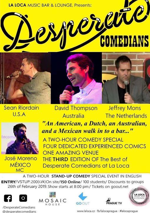 The Best of Desperate Comedians Vol. III