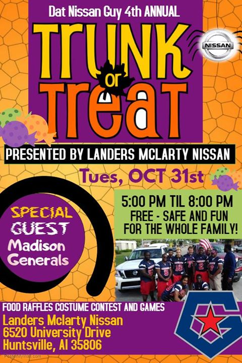 Good Dat Nissan Guy 4th Annual Trunk Or Treat