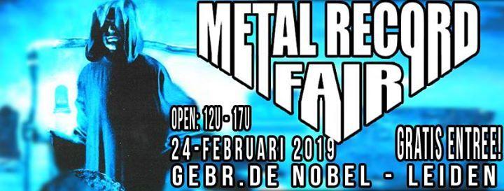 Metal Record Fair Leiden 2019