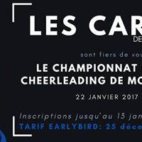 Comptition rgionale de cheerleading de Montral