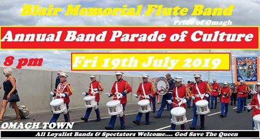Blair Memorial F.B Pride of Omagh 2019 Annual Parade