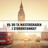 Vil du ta mastergraden i Storbritannia