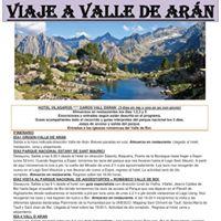 Senderismo por el Valle de Aran