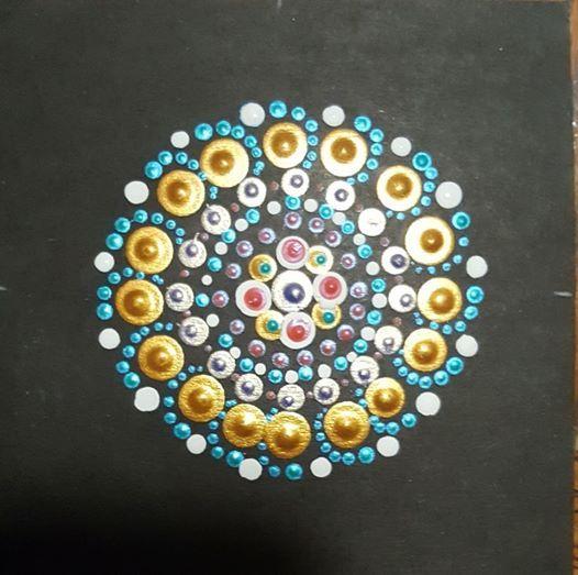 Dot Painting Mandalas