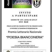 Cerimonia di Premiazione Concorso &quotPoesia Bianconera&quot
