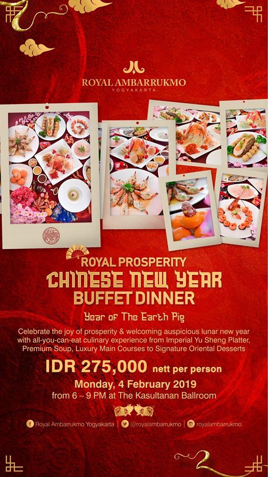 Royal Prosperity Chinese New Year Buffet Dinner
