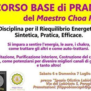 Corso Base di Pranic Healing  Perugia