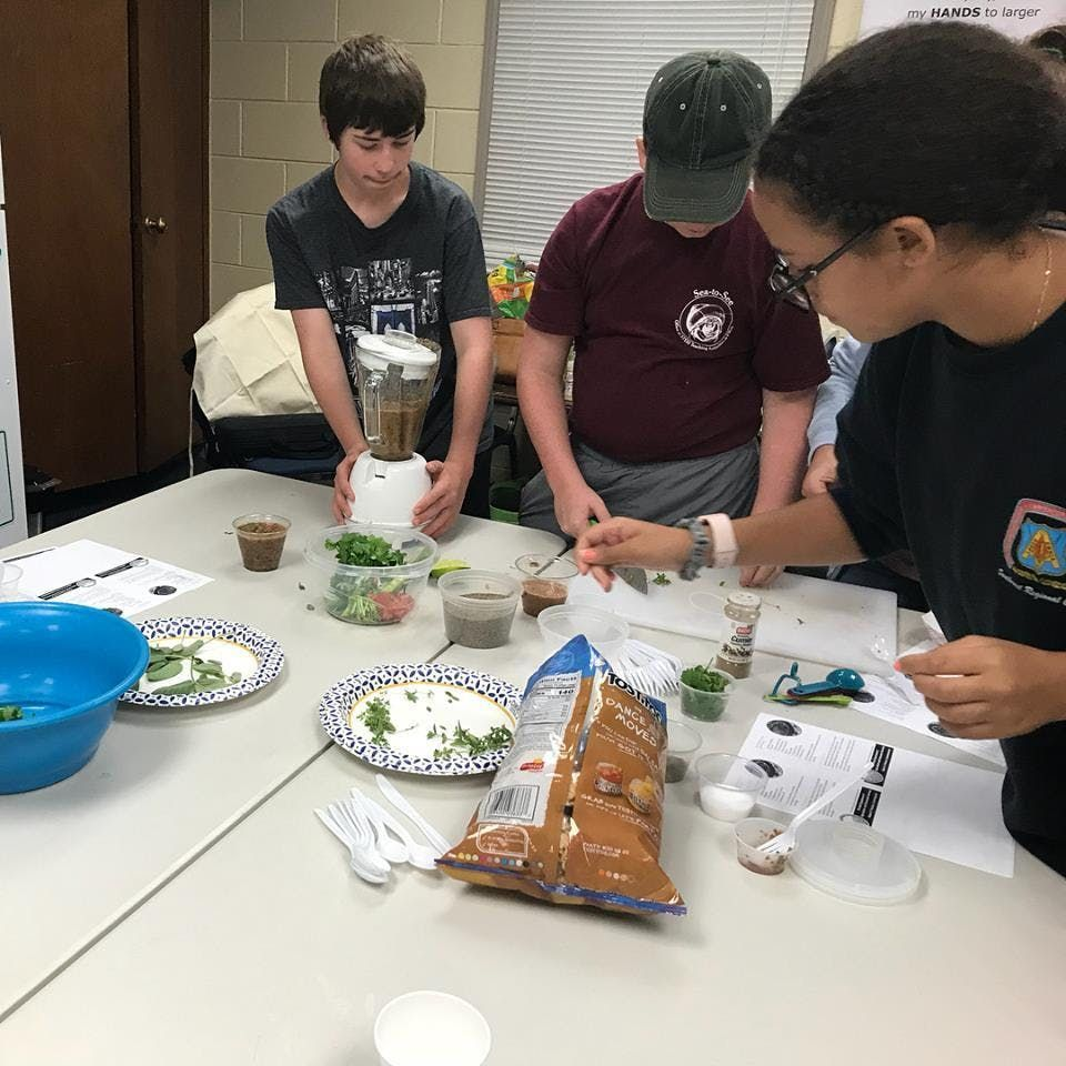 4-H Culinary Camp Ages 13 - 18