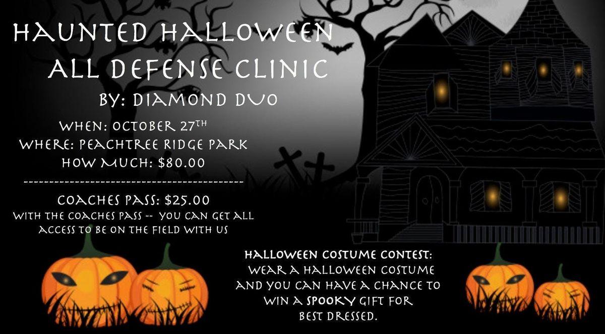 haunted halloween: all defense clinic at peachtree ridge park, suwanee