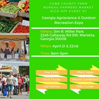 Farmers Market Kick-Off at Georgia Agriscience &amp Outdoor Expo