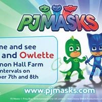 PJ Masks come to Cannon Hall Farm