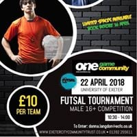 One Game One Community Futsal Tournament