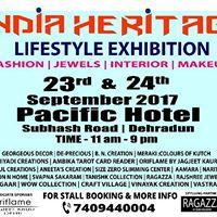 INDIA HERITAGE LIFESTYLE EXHIBITION  EDITION 2