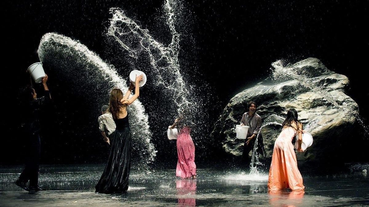 ScreenDance Miami 2019 presents Pina at New World Symphony - WALLCAST at SoundScape Park