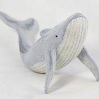 Beginners Needle Felting Class - Blue Whale