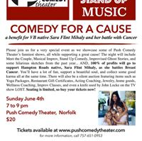 Comedy for a Cause A Benefit for VB Native Sara Flint Mihaly