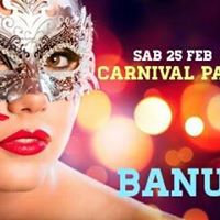 Erasmus Carnival Party Saturday 25th February Banus