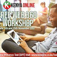 FreeWeb 360 Workshop