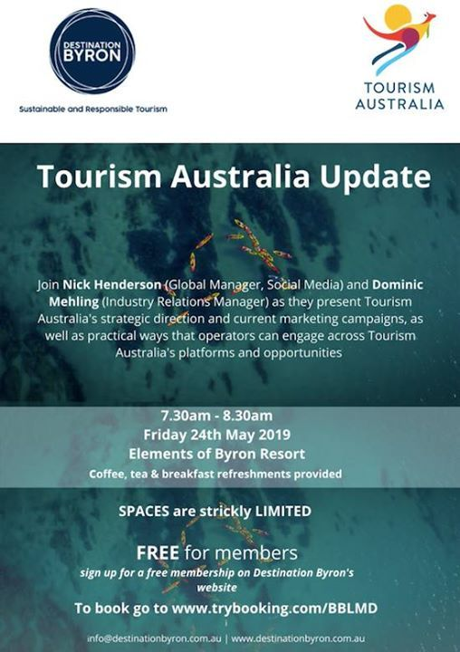 Tourism Australia Industry briefing