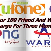 &quot Invite Your 100 Friend And Win Rs 100 Recharge For Three Month &quot
