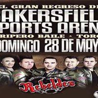 Bakersfield Sports Arena Presenta a Roberto Tapia &amp Los Nuevos Rebeldes