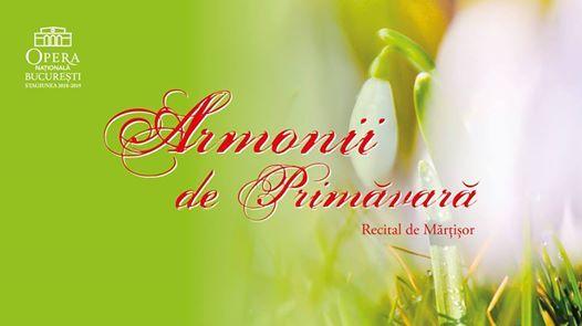 Armonii de Primvar  Recital de Mrior
