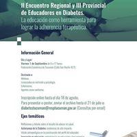 II Encuentro Regional y III Provincial de Educadores en Diabetes