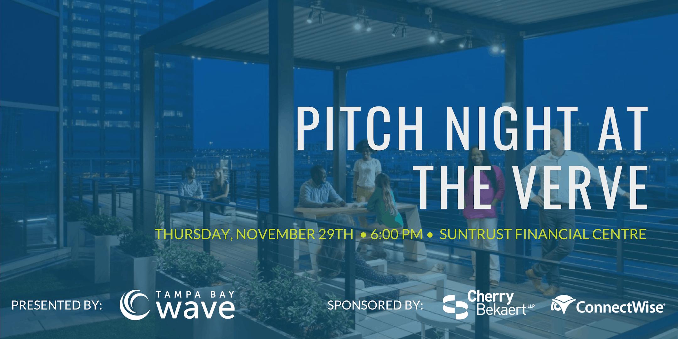 Tampa Bay Wave - Pitch Night at The Verve Lounge - Suntrust