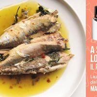 Mauro Lazzari  A scuola con lo Chef Il pesce povero