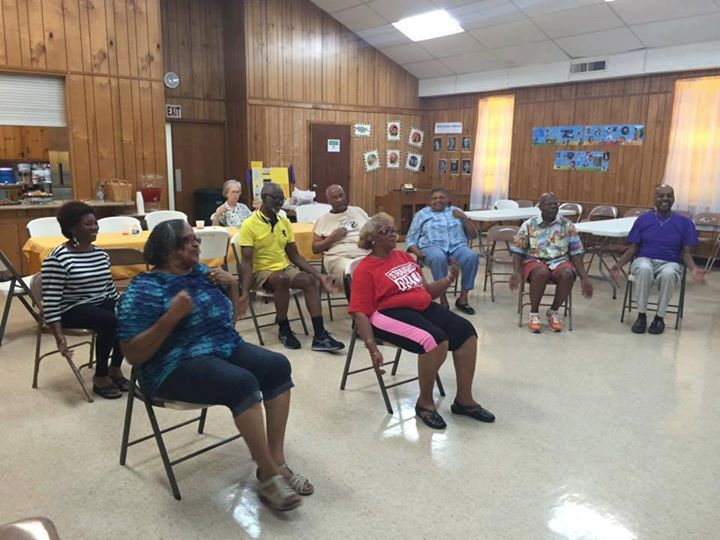 Chair Aerobics with Greater Bethel