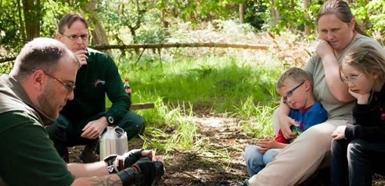 Bushcraft for Adults at The Wolseley Centre