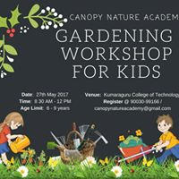 Gardening Workshop for Kids (6 Years - 9 Years)
