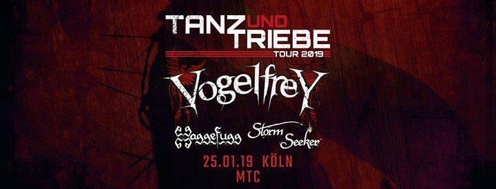 Tanz und Triebe Tour - Kln & Albumrelease Fass zum Teufel