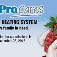 Comfort Pro Cares 2015