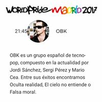 Worlpride 17 - Escenario Alcal (Madrid)