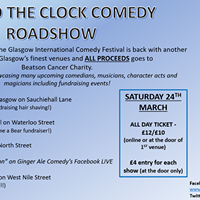 Round The Clock Comedy Roadshow