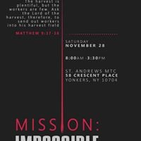 NERYF Fall One Day Conference MissionImpossible