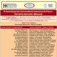 Curso Universitario de Psicogeriatra Aplicada