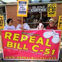 Repeal Bill C-51 Scrap Bill C-59 138th Weekly Picket