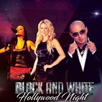 Black &amp White Hollywood Night