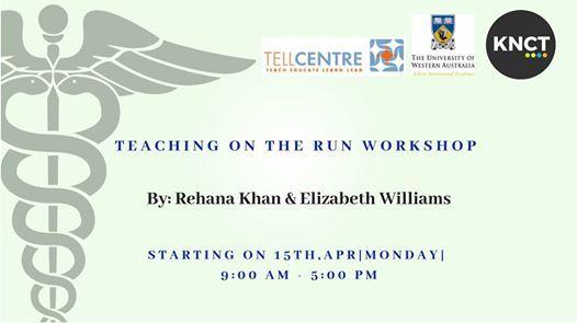 Teaching on the Run Workshop