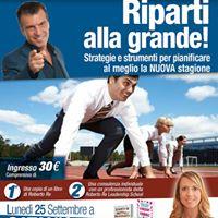 Riparti alla grande - 25 settembre a Catania
