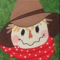 Kids Canvas  Scarecrow Design